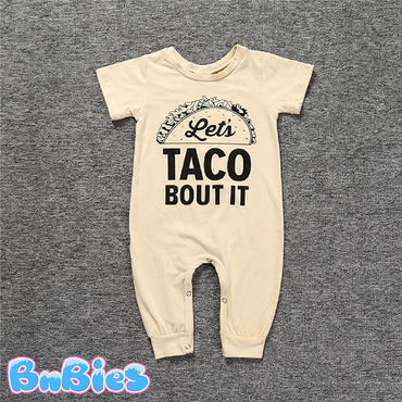 Let's TACO BOUT IT Baby Romper