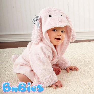 BnBies.com_Hooded Animal model Cotton Bathrobe 37 Designs