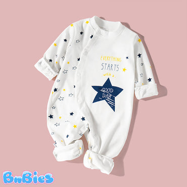 Pure Cotton Cute Baby Boy & Girl Romper