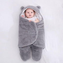 Fluffy Baby Swaddle Wrap 0-12 months
