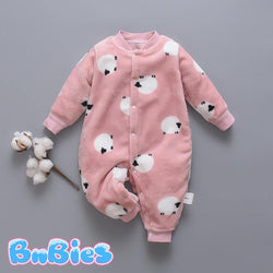 Autumn & Winter Soft Cotton Sheep Romper - Bnbies