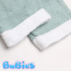 a close up of a towel on a towel