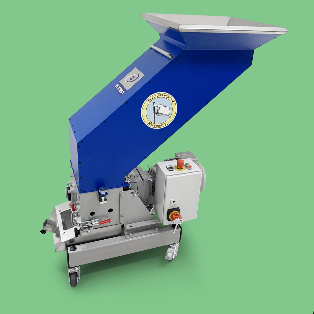 Precious Plastic Melbourne Granulator | Recycle plastic, shred & create granules