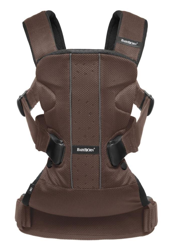 Baby Bjorn Baby Carrier One In Brown And Black Mesh