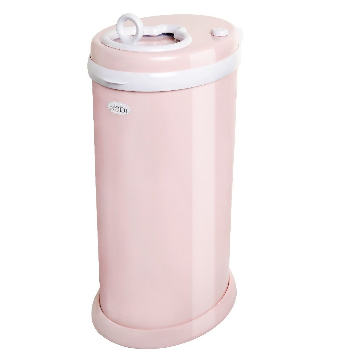 Ubbi Diaper Pail in Blush Pink