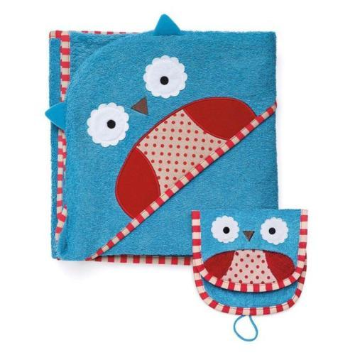 ***DISCO*** Skip Hop Towel and Mitt Set in Owl