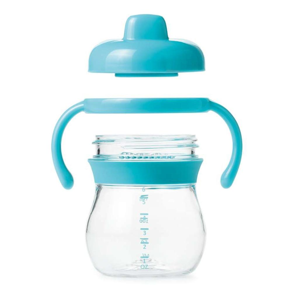 Oxo Tot Transition Sippy Cup with Handles Aqua