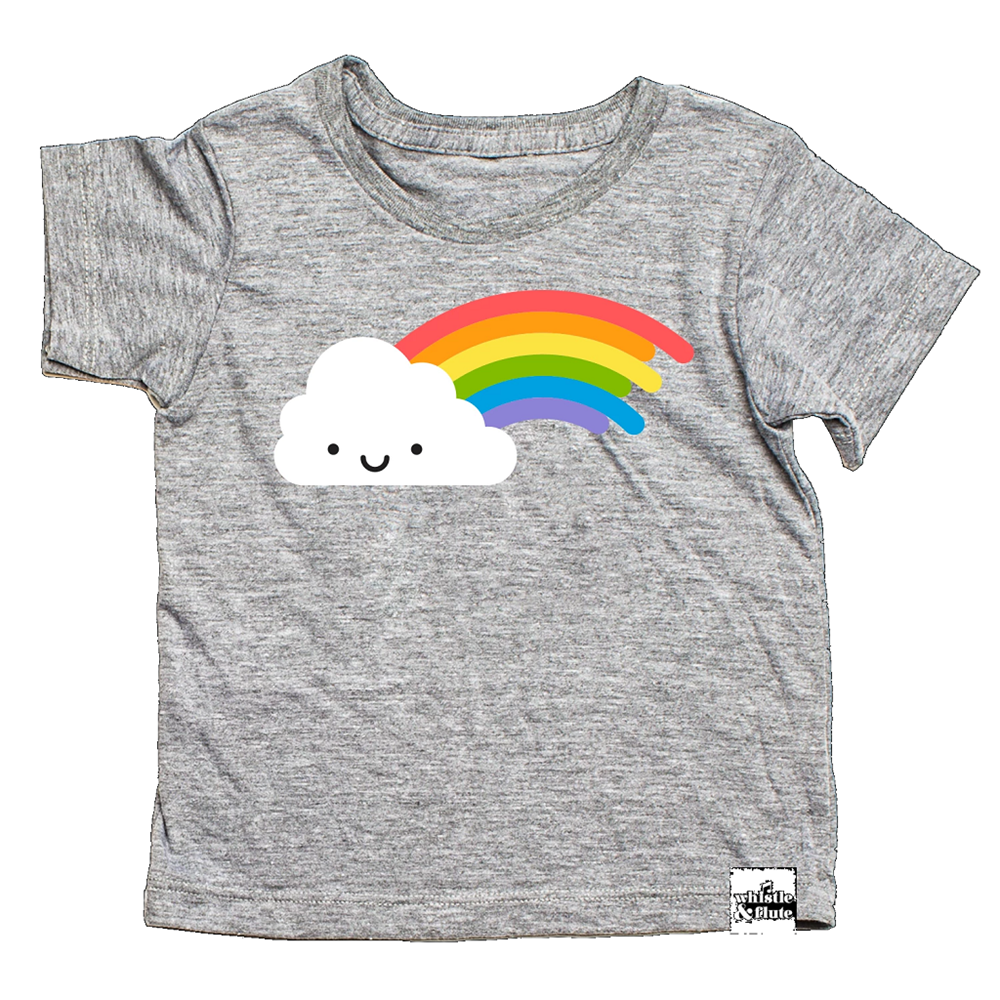Whistle and Flute Kawaii Rainbow T-Shirt