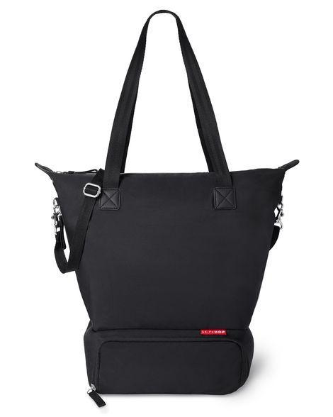 Skip Hop Tray Chic Dry & Store Pump Bag in Black
