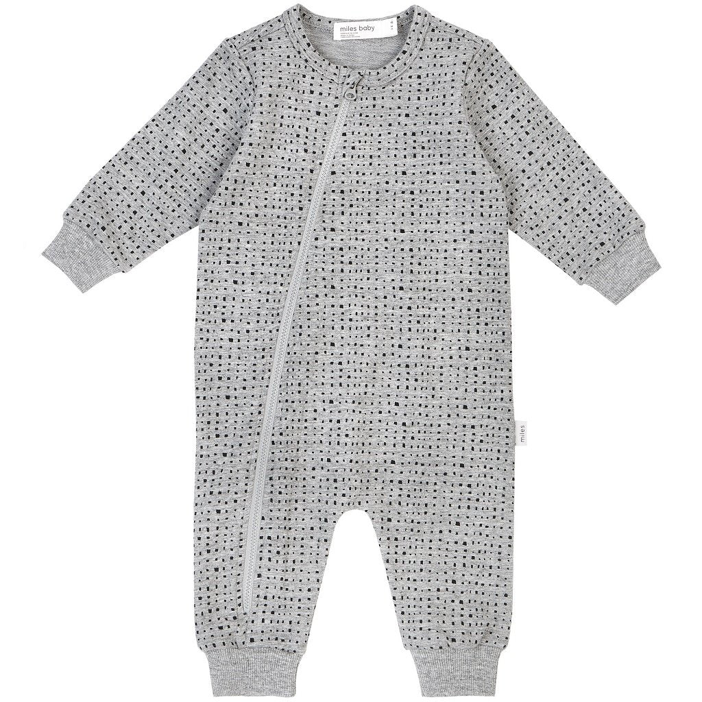 "Miles Baby ""MILES BASIC"" PLAYSUIT"