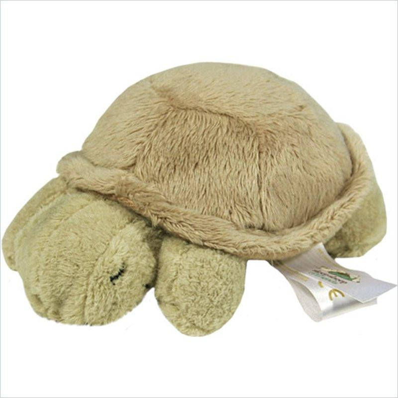 Cloud B Plush Turtle Quiet Baby's Rattle