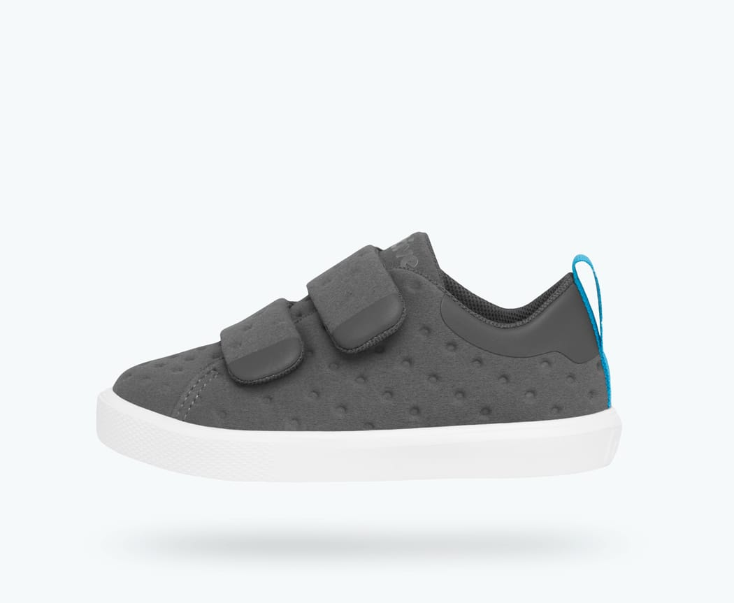 Native Shoes MONACO VELCRO JUNIOR DUBLIN GREY / SHELL WHITE