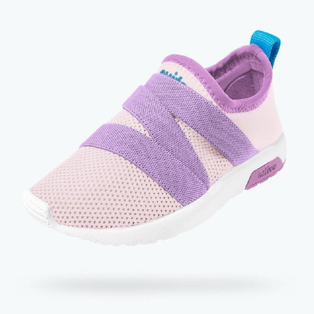 Native Shoes Phoenix Junior Cold Pink / Lavender Purple / Shell White