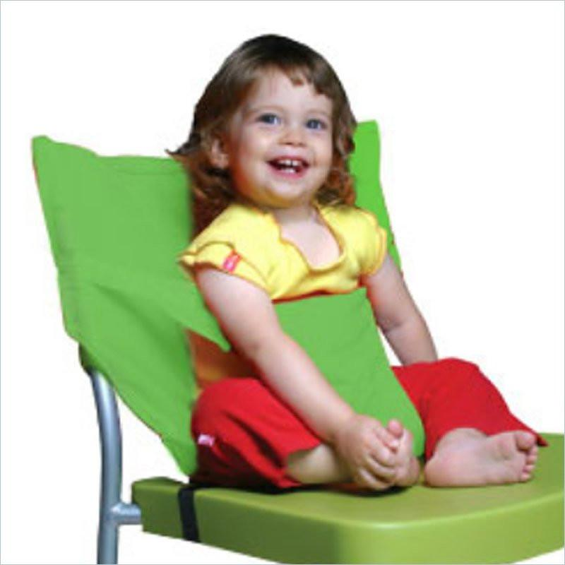 Little Beetle Green Fabric Baby Chair