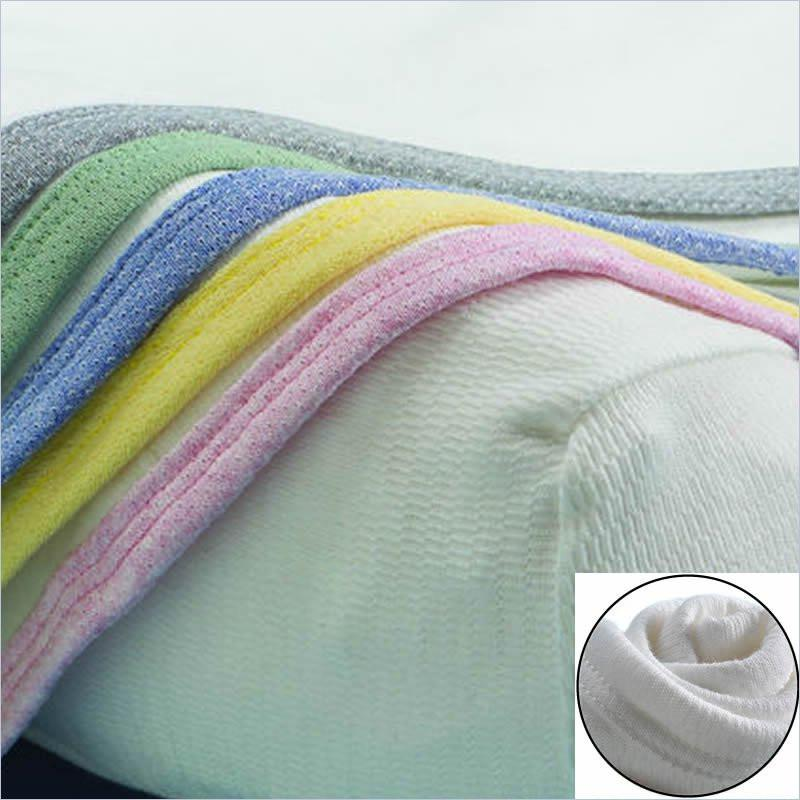 BonnBonn Antimicrobial Moisture Control Baby Changing Pad Cover in White