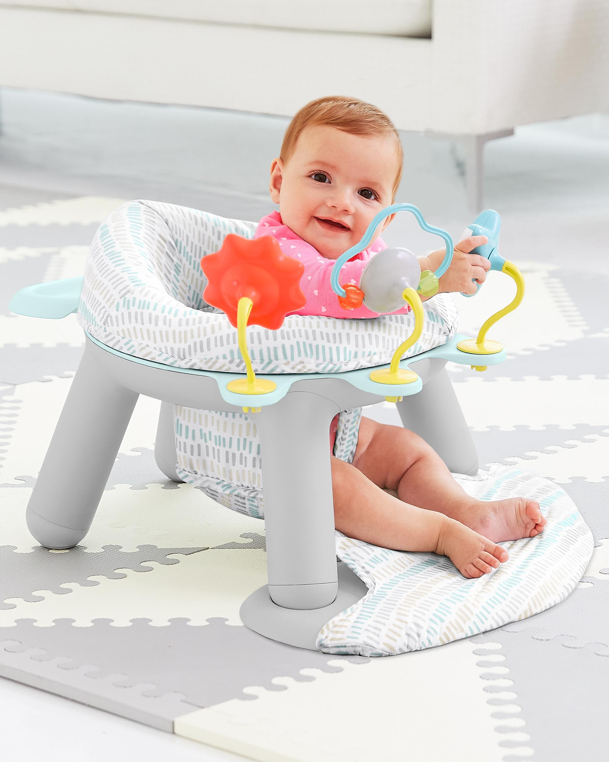 Skip Hop 2-IN-1 ACTIVITY INFANT SEAT