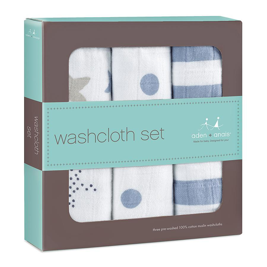 Aden + Anais washcloth set 3-Pack