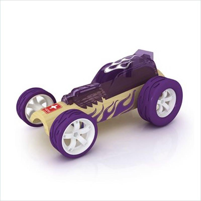 Hape Hot Rod Mini Car in Purple