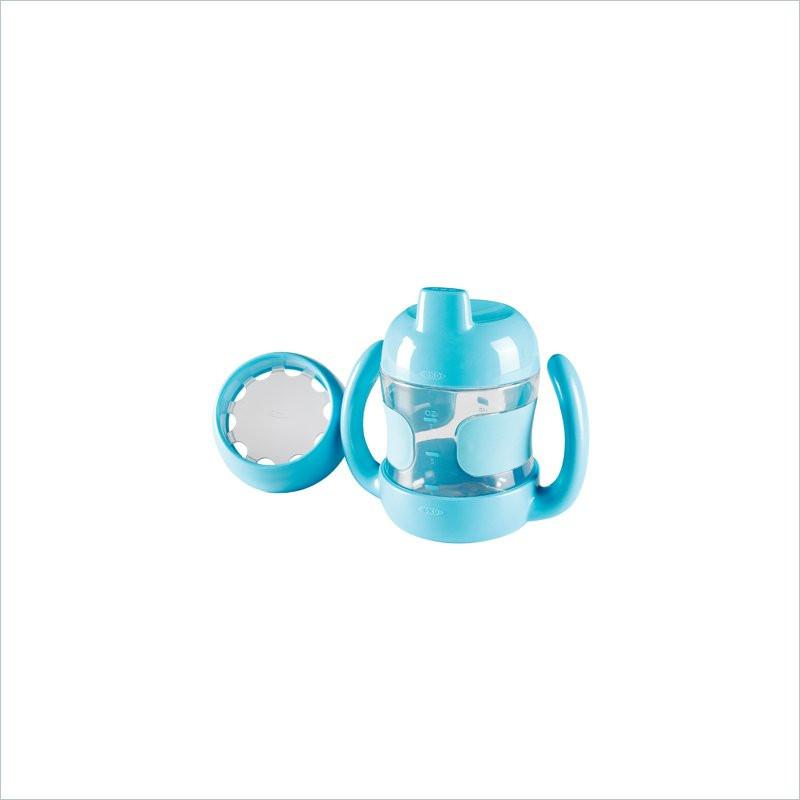 OXO Tot Sippy Cup Set with Handles in Aqua