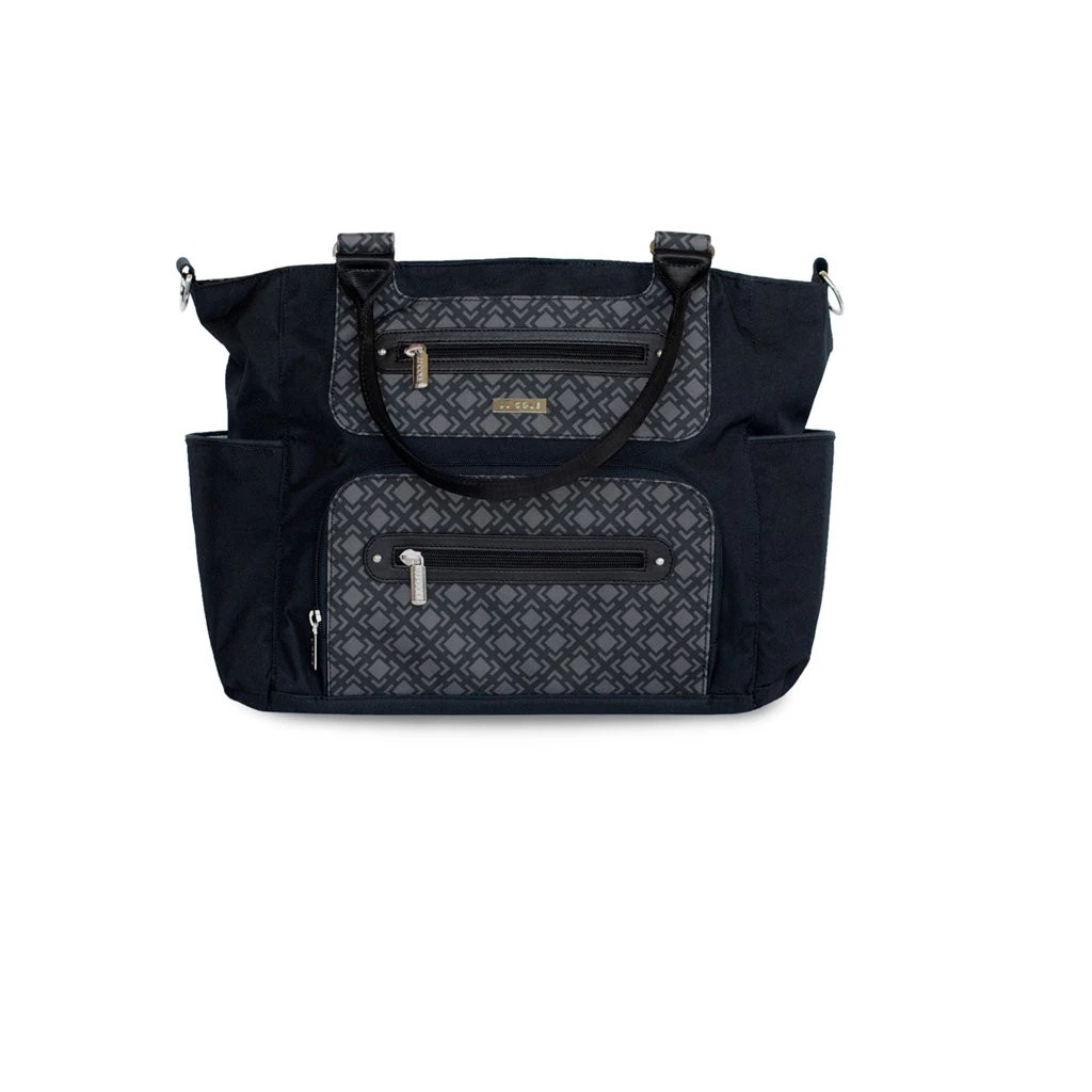 JJ Cole Caprice Diaper Bag in Shadow