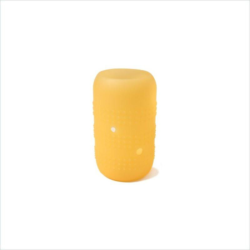 Silikids Siliskin Large Universal Wideneck Glass Cover in Yellow