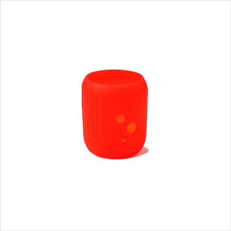 Silikids Siliskin Small Universal Wideneck Glass Cover in Red