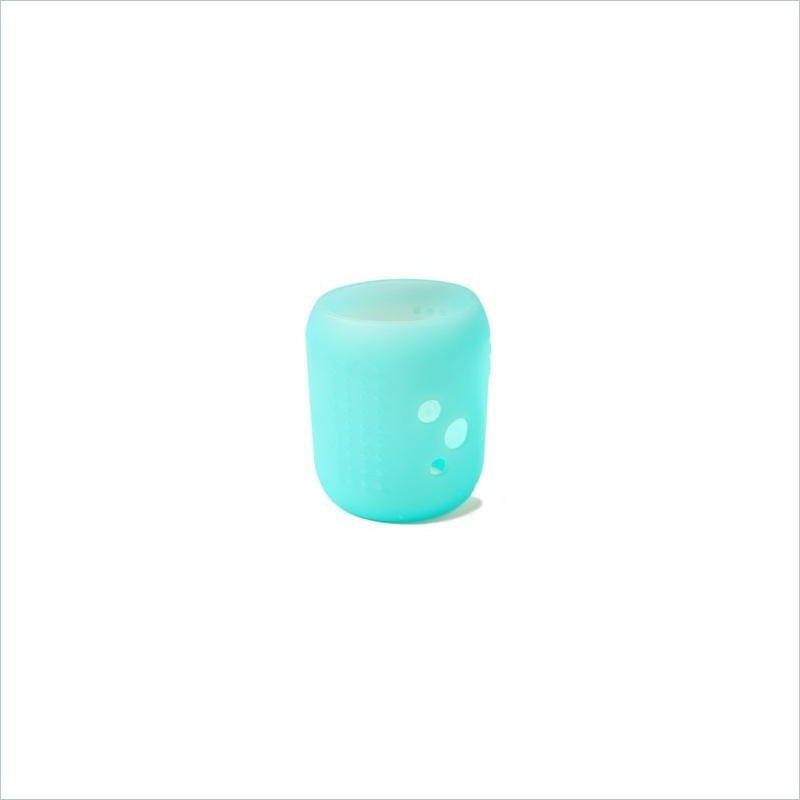 Silikids Siliskin Small Universal Wideneck Glass Cover in Blue