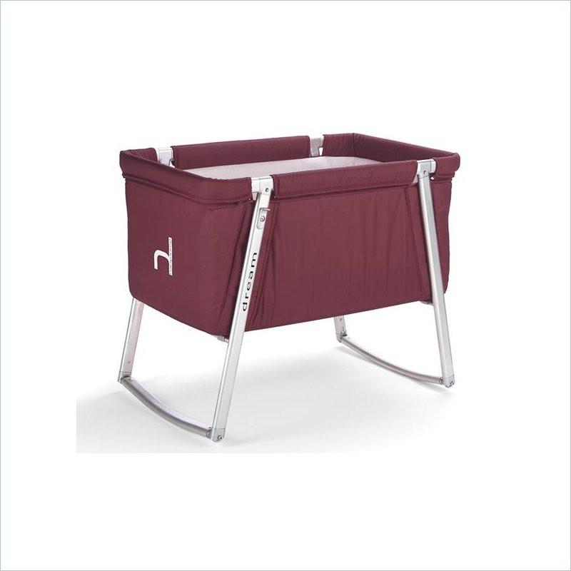BabyHome Dream Baby Cot in Purple