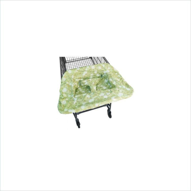 JJ Cole Compact Shopping Cart and High Chair Cover in Spring Cotton