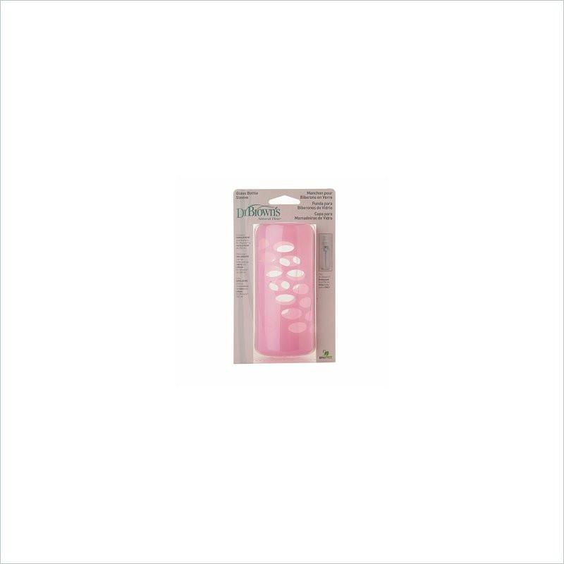 Dr. Brown's Glass Bottle Sleeve - 8 Oz Pink