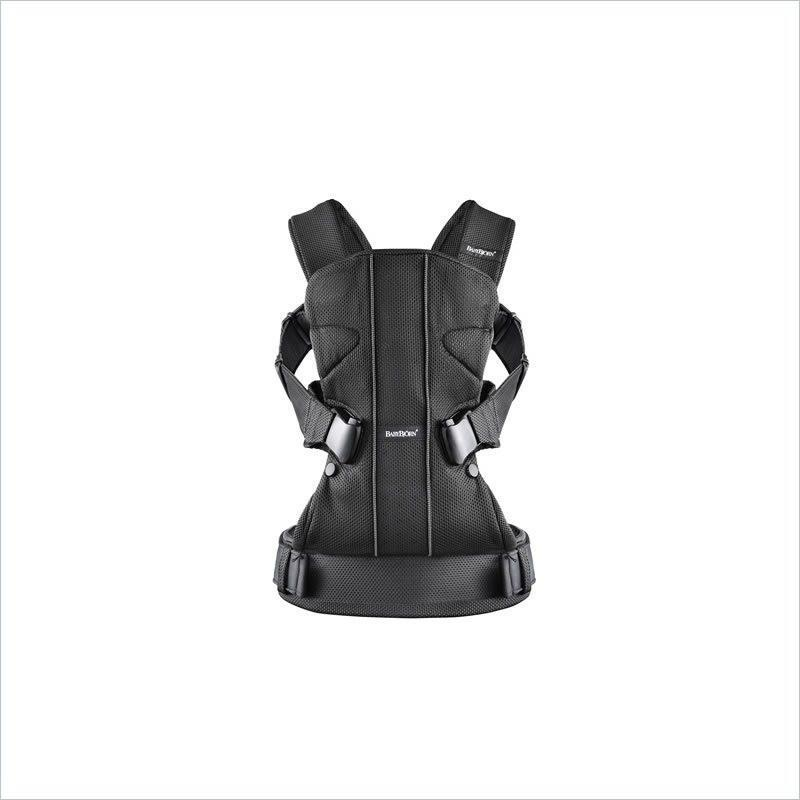 Baby BjornBaby Carrier One Cotton Mix in Black