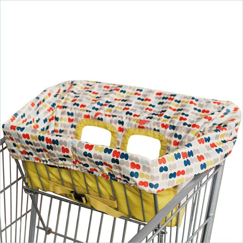 Skip Hop Take Cover Shopping Cart Cover in Dotsi
