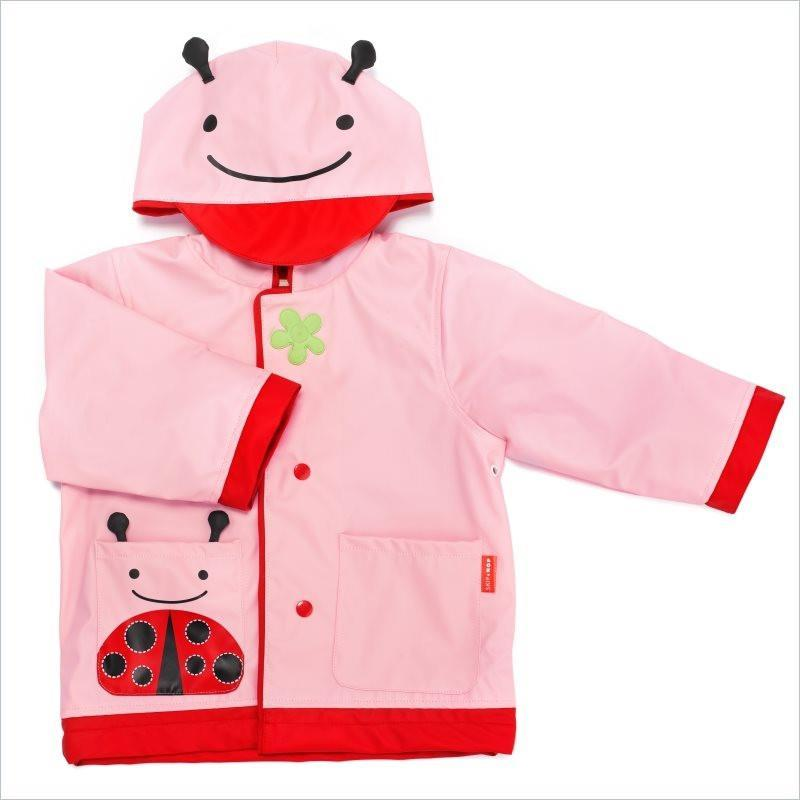 Skip Hop Zoo Little Kid Raincoat in Ladybug