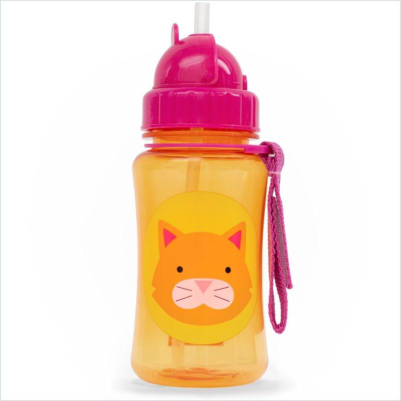 Skip Hop Zoo Straw Bottle in Cat