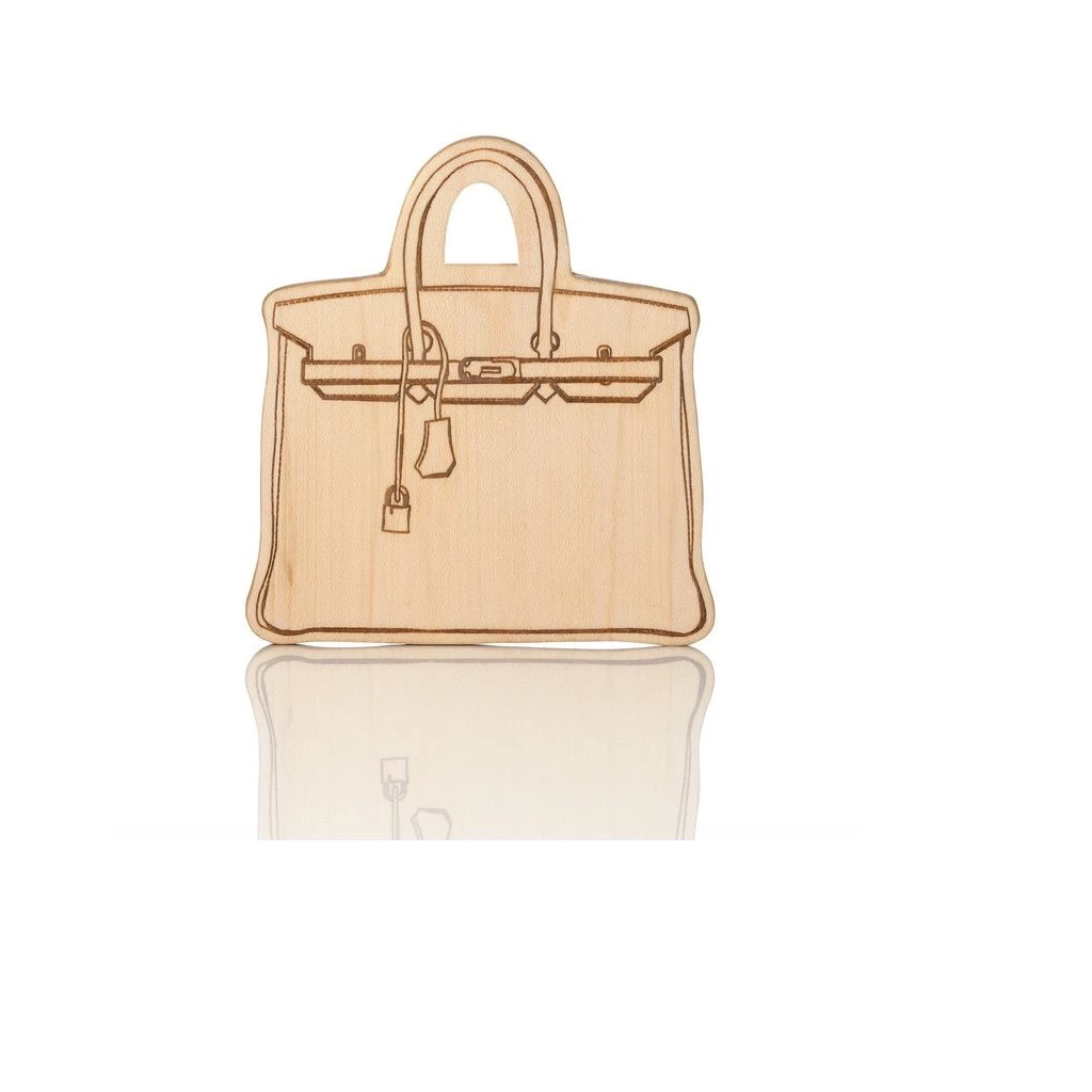 Lexypexy Eco Chic Wood Teether Everly Handbag