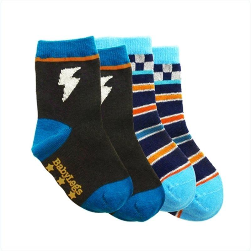 Babylegs Socks Boys in Power Play(Set of 2)