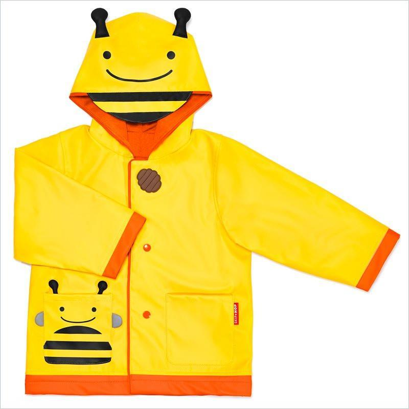Skip Hop Zoo Little Kid Raincoat in Bee