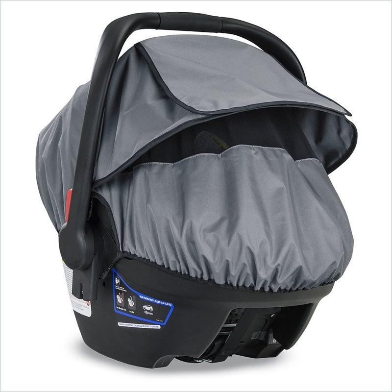 Britax B-Covered Infant Car Seat Sun Bug and Rain Cover