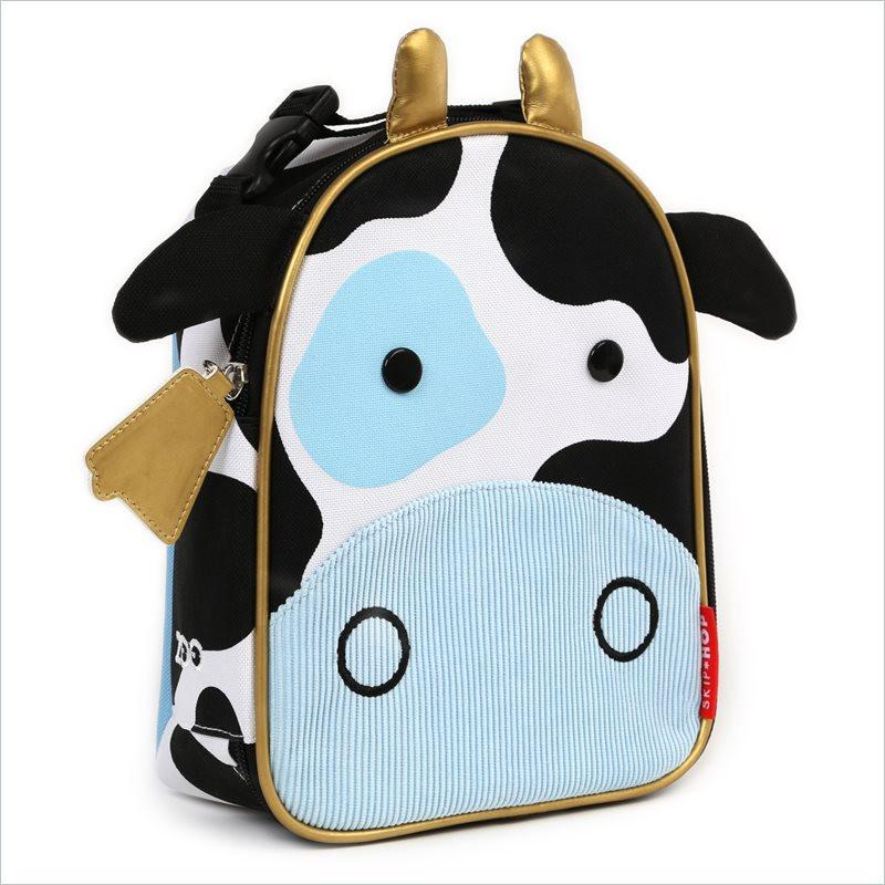 Skip Hop Zoo Lunchies Insulated Lunch Bag in Cow
