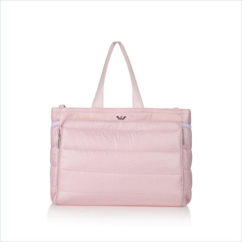 Armani Junior Changing Bag in Pink Fantasia Patterned