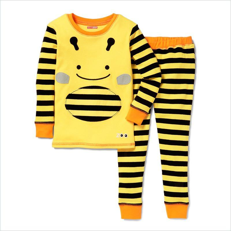 Skip Hop Zoo Zoojamas Kid Pajamas in Bee