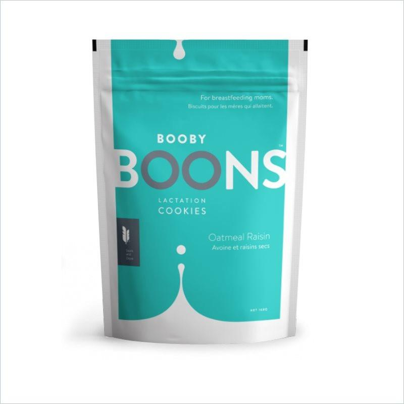 Stork and Dove Booby Boons Lactation Cookies in Oatmeal Raisin