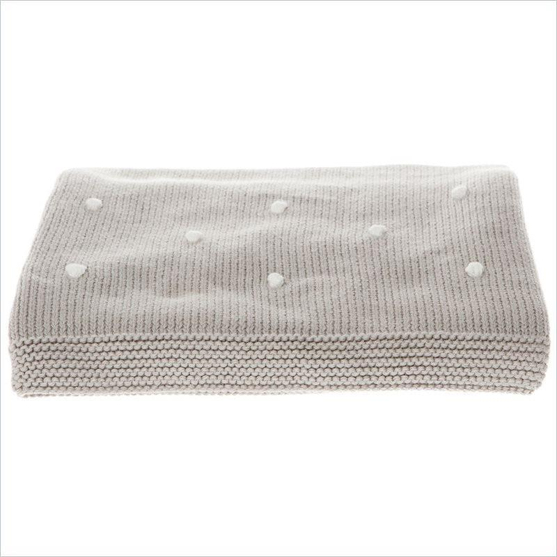 The Honest Company Organic Knots Knit Blanket