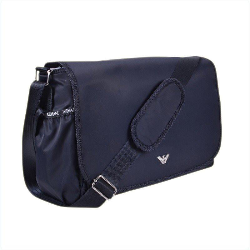 Armani Junior Changing Bag in Indigo
