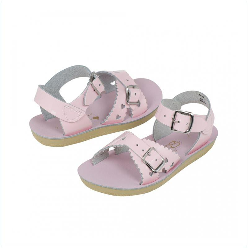 Salt Water Sandal Sweetheart in Shiny Pink