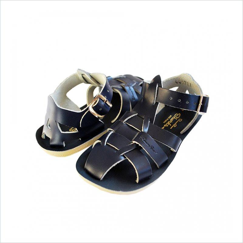 Salt Water Sandal Sharks in Navy Blue