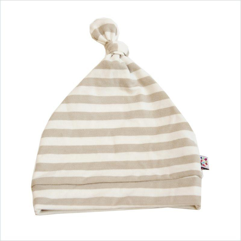 Westcoast Baby Beanie Hat in Sand Stripe
