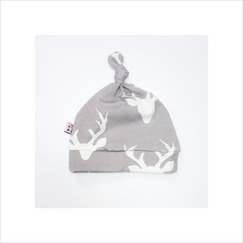 Westcoast Baby Beanie Knot Hat in Antler