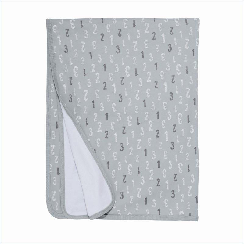 Skip Hop ABC-123 Welcome Blanket in Gray