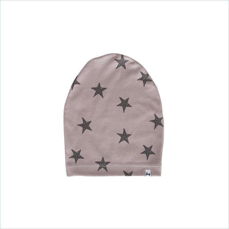 Little Citizen Organic Cotton Slouchy Beanies in Stars